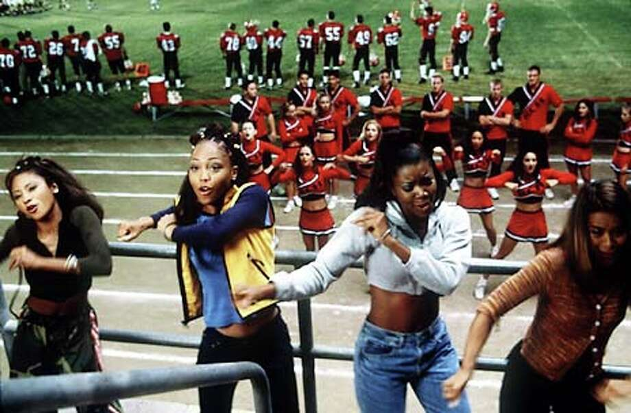 Natina Reed, Brandi Williams, Gabielle Union and Shamari Fears in BRING IT ON. Handout