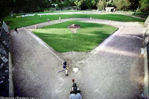 Boyle Park is the field of dreams for Mill Valley little-league players seeking a championship. Chronicle photo by Frederic Larson