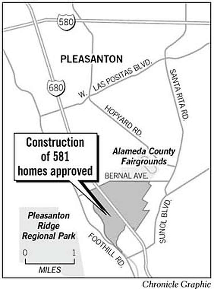 Housing Offices Okd For Acreage In Pleasanton Parks Playing