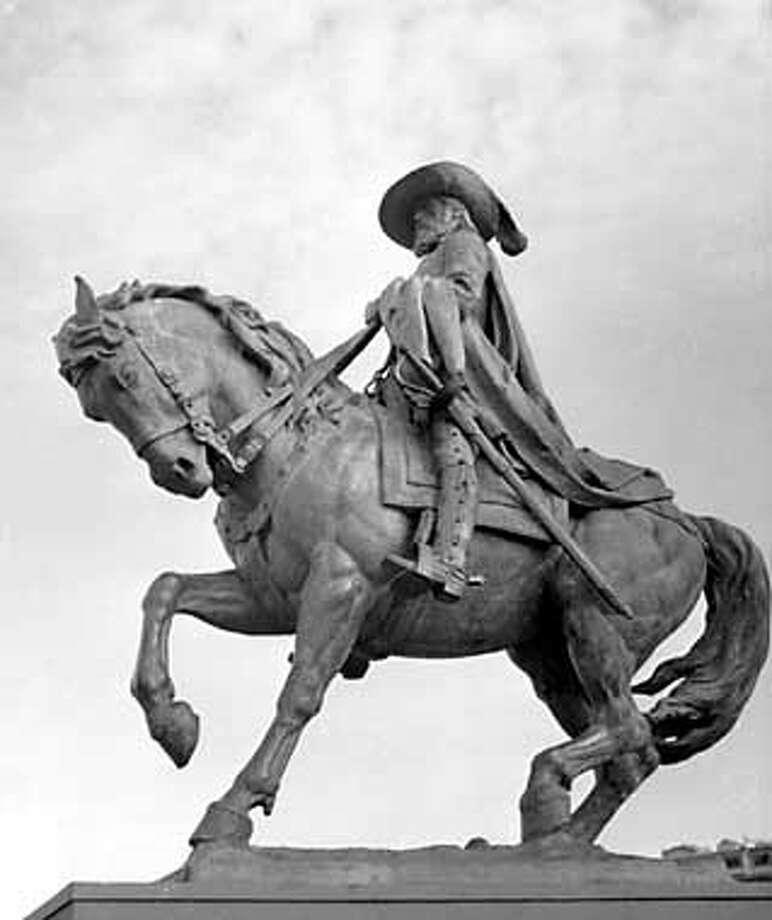 Juan Bautista de Anza. Photo courtesy of the San Francisco Arts Commission / SAN FRANCISCO ARTS COMMISSION