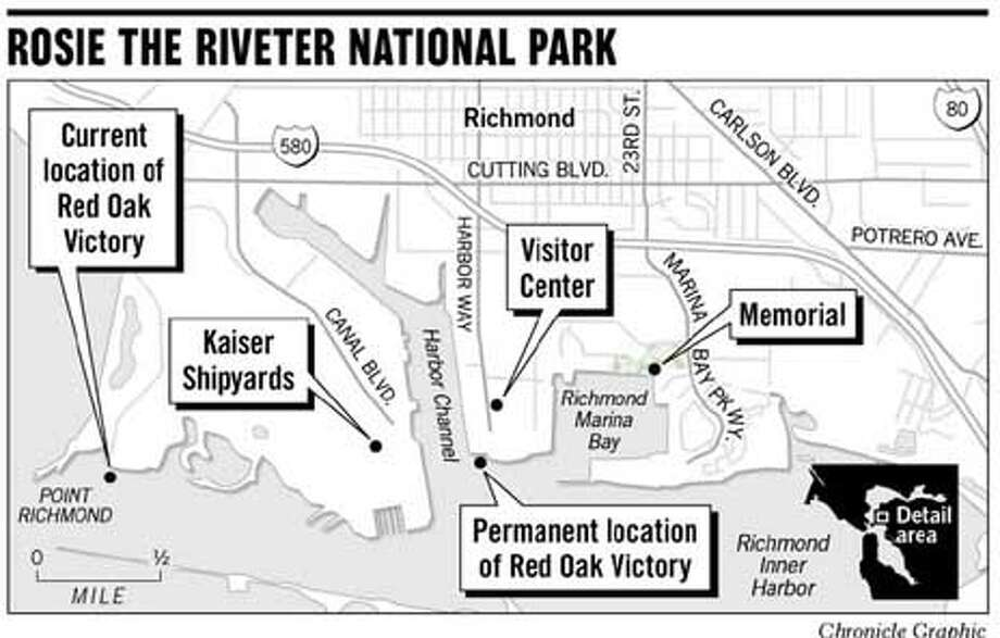Rosie the Riveter National Park. Chronicle Graphic