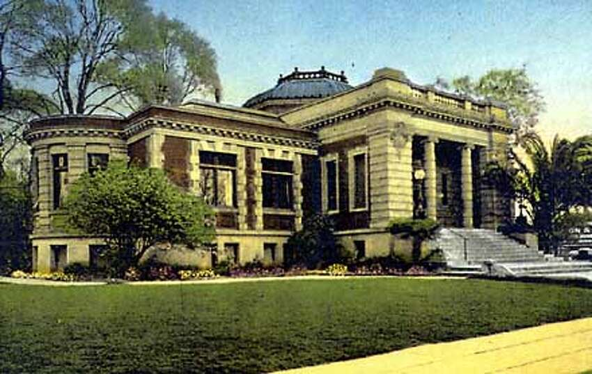 A Carnegie library of 1903 was the San Jose library. Courtesy Photo