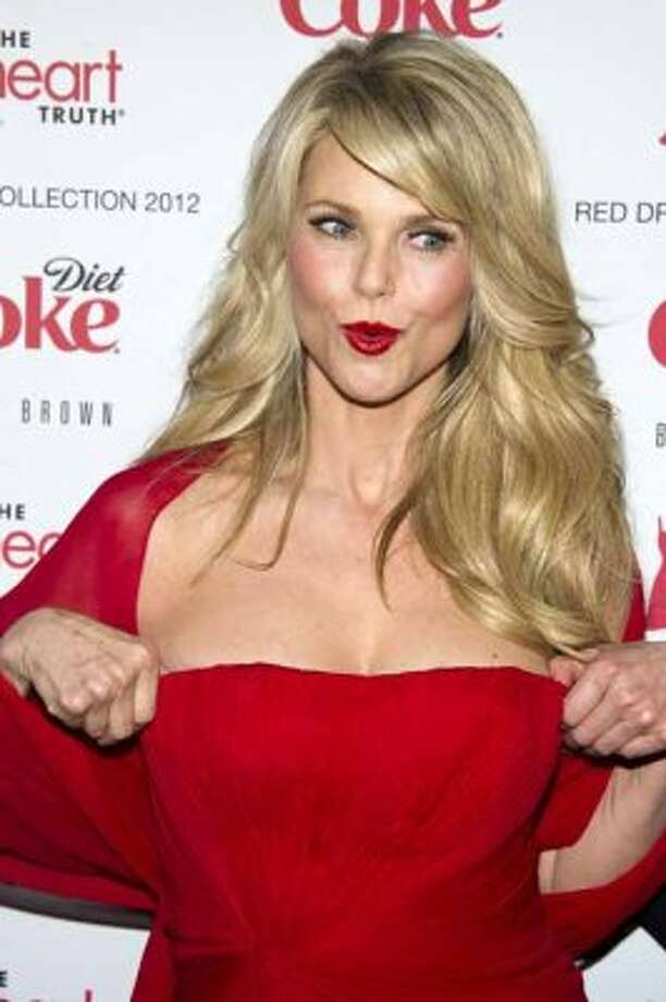 Christie Brinkley models Pamella Roland at the Heart Truth's Red Dress Collection during Fashion Week in New York, Wednesday, Feb. 8, 2011. (AP Photo/Charles Sykes) (AP)