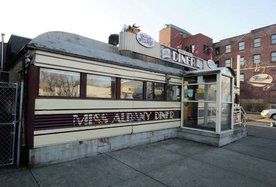 The Miss Albany Diner on Broadway in Albany, N.Y. will close after lunch Friday Feb. 10, 2012. Owner Jane Brown is retiring. The iconic north side eatery is being sold to to Matt Baumgartner, the owner of the nearby Wolff's Biergarten. (Skip Dickstein / Times Union) Photo: SKIP DICKSTEIN / 00016394A