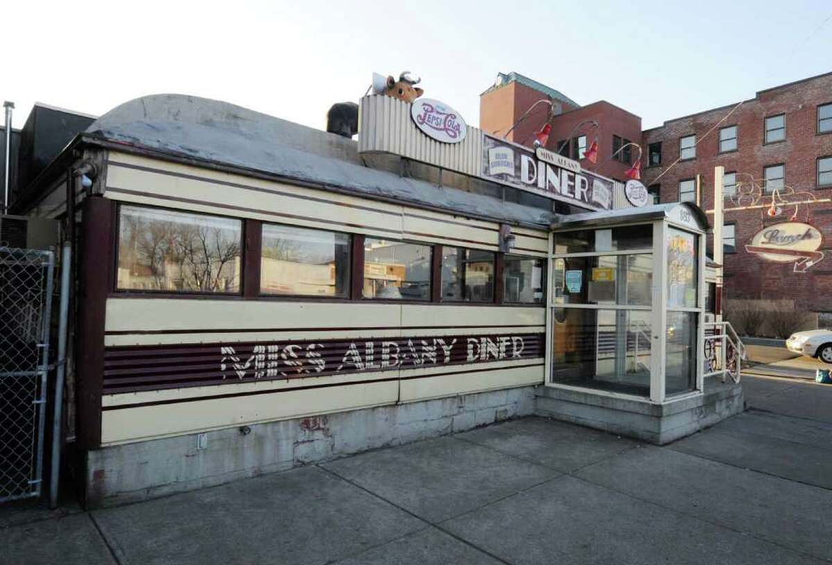 The Miss Albany Diner on Broadway in Albany, N.Y. will close after lunch Friday, Feb. 10, 2012. Owner Jane Brown is retiring. The iconic north side eatery is being sold to to Matt Baumgartner, the owner of the nearby Wolff's Biergarten. (Skip Dickstein / Times Union)
