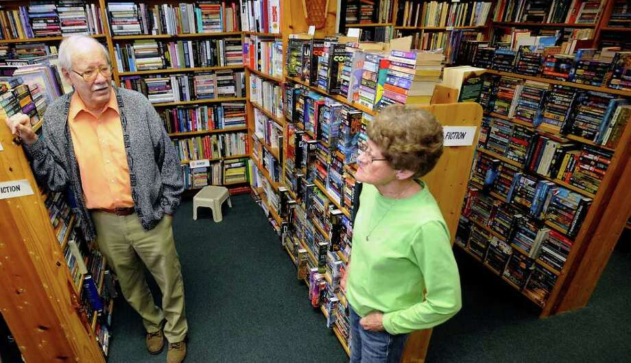 Bob and Joyce Gaskin own Red B4 Books, a used/rare book store in Beaumont. They specialize in paperbacks but also carry hardbacks and are located on Calder Avenue.  Independent book stores have been touted as the community's collectors. Sellers amass their collection from area library sales, estate sales and whatever customers want to trade in from anywhere.  Dave Ryan/The Enterprise