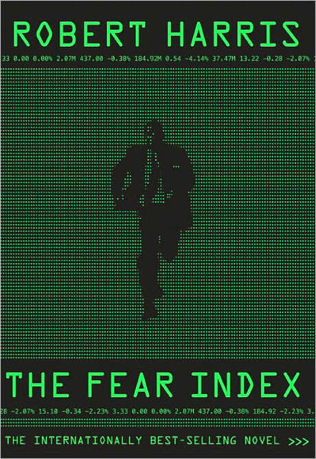 Book cover for The Fear Index, by Robert Harris Photo: Xx