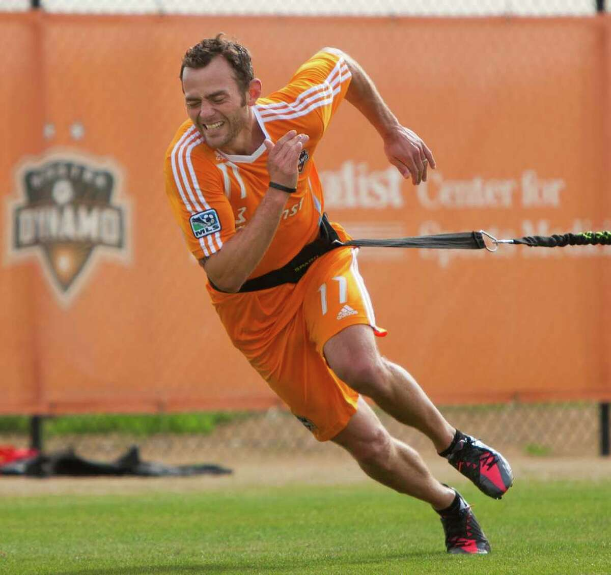 The Dynamo's Brad Davis has pushed himself in the offseason and preseason to be ready for the opener.