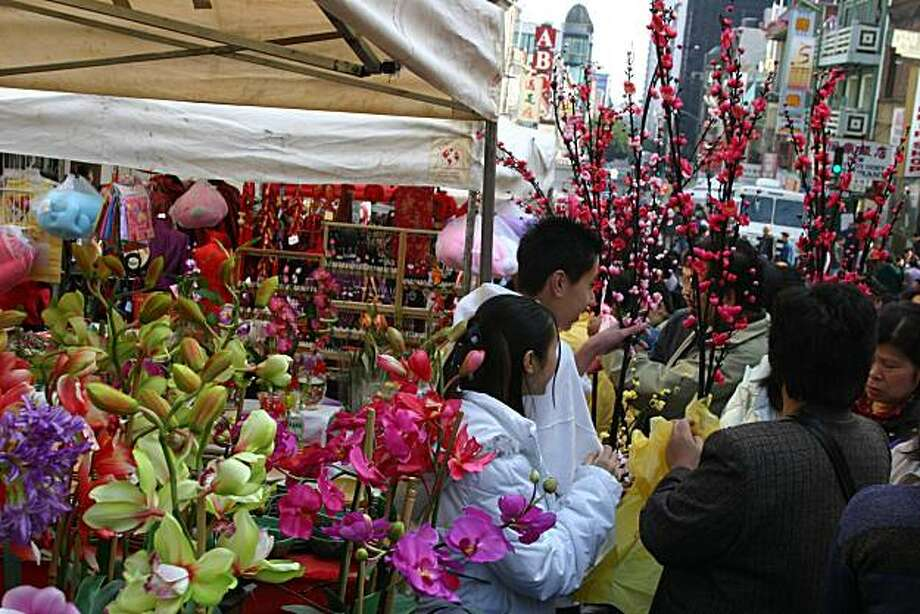 From the Chinese New Year Flower Fair Photo: Knight Lights Photography