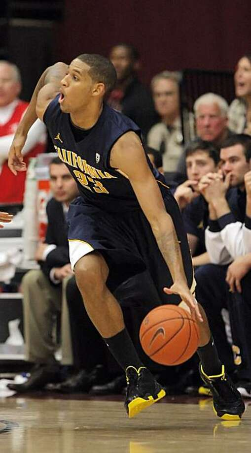 Allen Crabbe of the Bears during game action against the Cardinal. The University of California Golden Bears played the Stanford Cardinal at Maples Pavilion in Stanford, Calif., on Sunday, January 2, 2011. Photo: Carlos Avila Gonzalez, The Chronicle