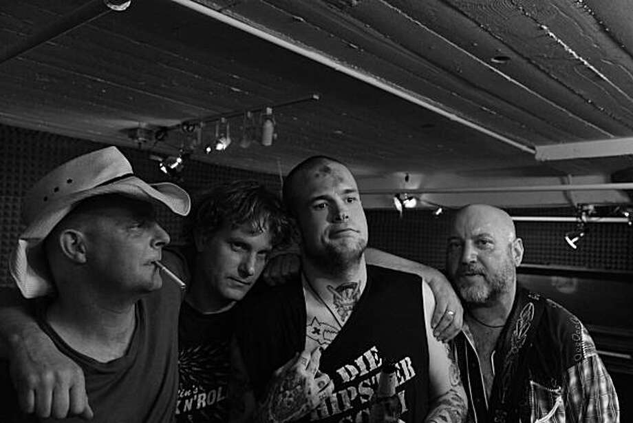 From left: Joe Dean, Tom Rockwell, Jesse Morris and Barry Spry. Photo: Bill Cendak