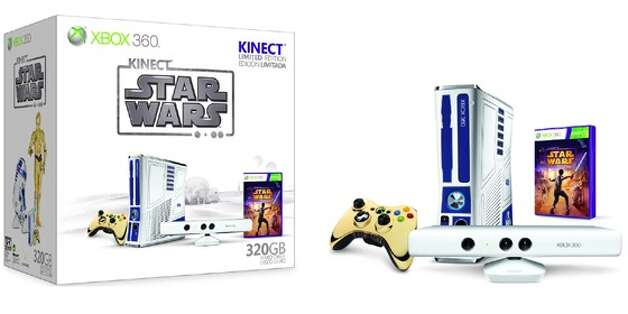 Microsoft Kinect Star Wars Xbox 360 bundle. Photo: Microsoft