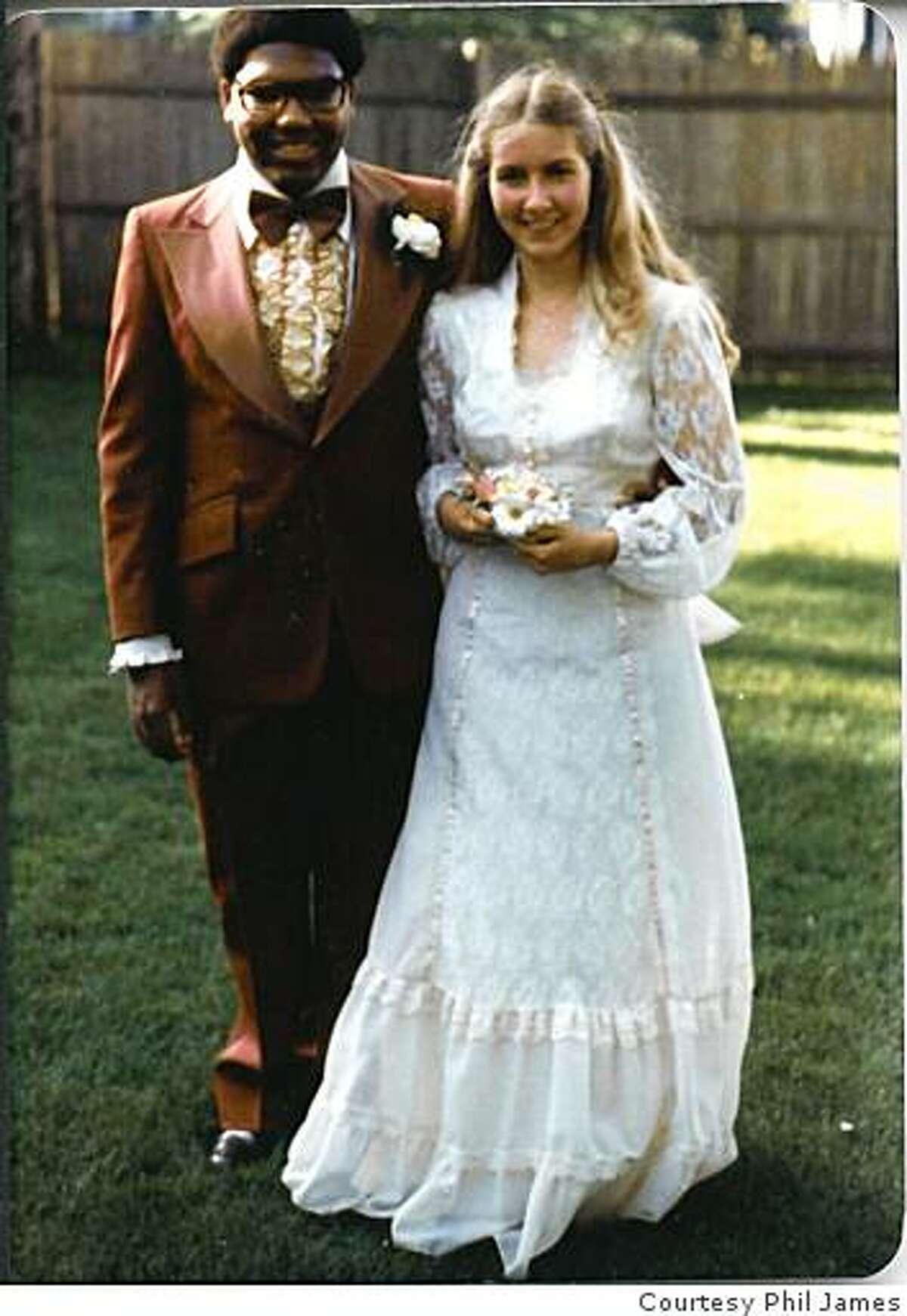Phil James before his 1978 senior ball.