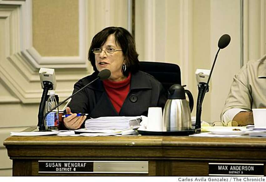 Berkeley City Council member, Susan Wengraf. Berkeley City Council meetings frequently last five hours, putting their ending time past midnight, the chambers are neither heated nor air-conditioned, the acoustics are so bad the council members cannot hear themselves bicker, and the endless public comments - about Rwanda, the CIA, free-form poetry, etc., continue. Worse, the council often pushes back controversial items to the end of the agenda in an attempt to wear down the public (and journalists), which she calls an attack on democracy. We�ll take a look at the anatomy of a Berkeley city council meeting.