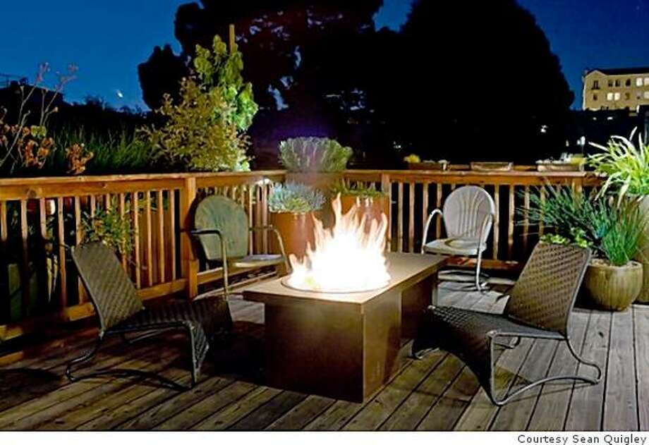 An early version of Sean Quigleyu0027s fire table. Photo Courtesy Sean Quigley & Sean Quigley of Paxton Gate in style spotlight - SFGate