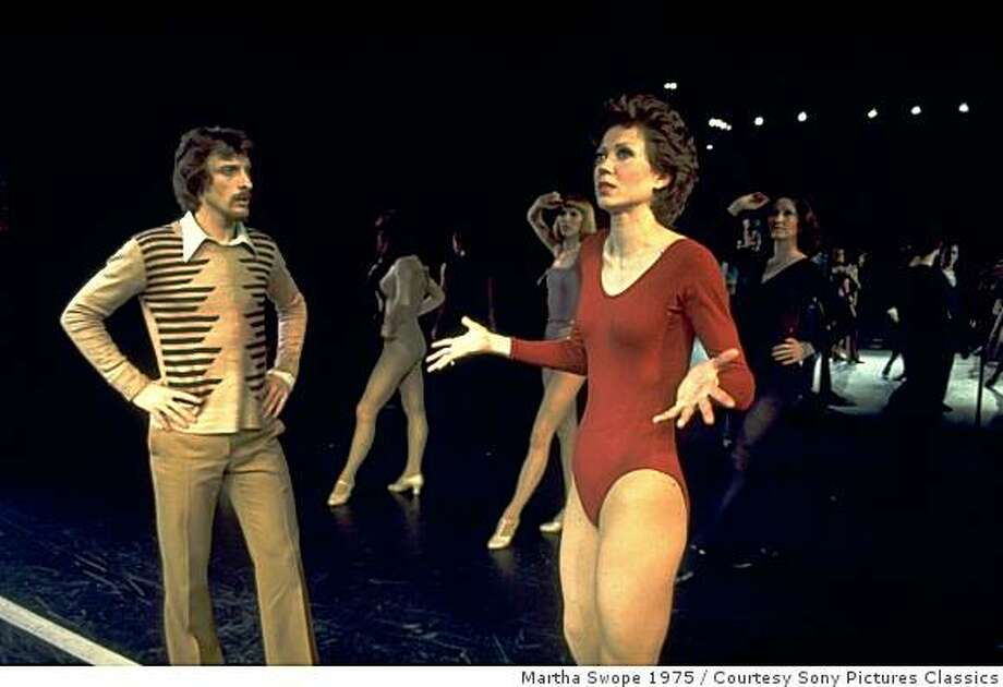 """(L-R) Robert Lupone and Donna McKechnie in a scene from the Broadway musical ""A Chorus Line"". Photo: Martha Swope 1975, Courtesy Sony Pictures Classics"