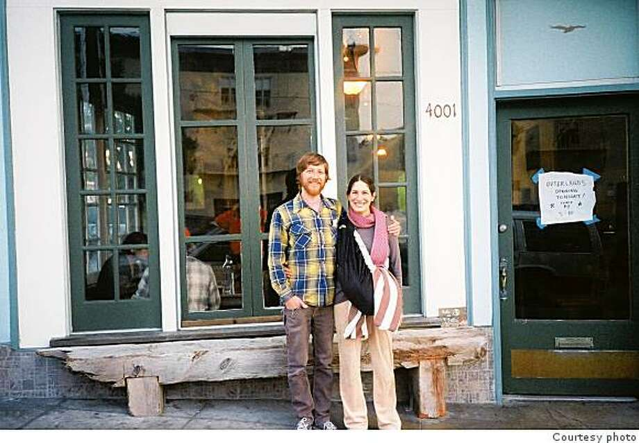 David Muller and Lana Porcello used a micro-loan to open a restaurant in the Sunset District of San Francisco that features seasonal food from local farms. Photo: Courtesy Photo