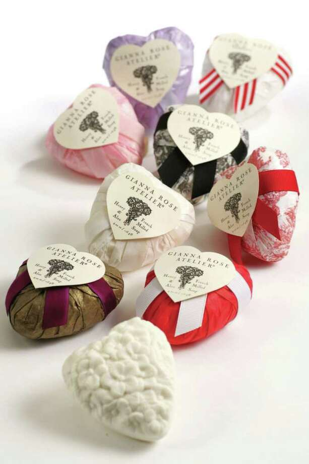 Gianna Rose Atelier soaps are French-milled and make a great gift for Valentine's Day. Photo: Studio PR