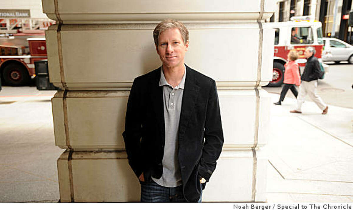 Chris Larsen, co-founder and CEO of Prosper, poses on Monday, April 27, 2009, in San Francisco.