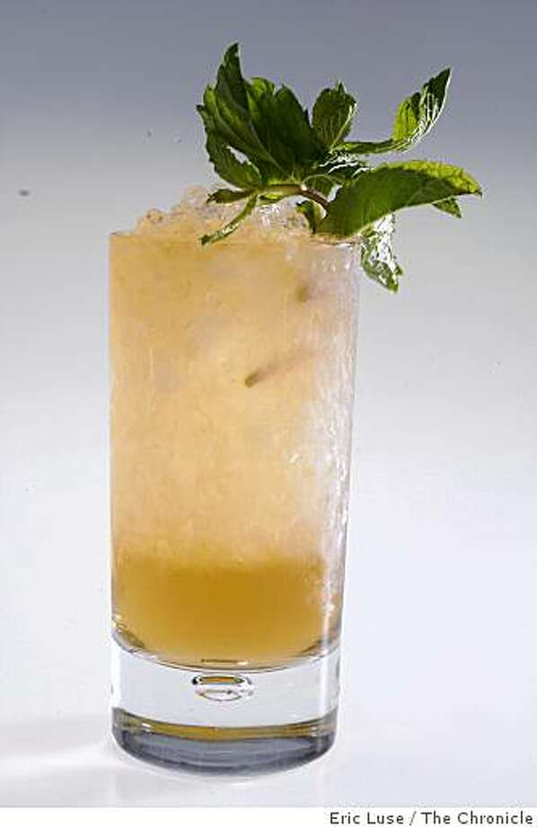 Mint Julep photographed  in San Francisco on Thursday, April 23, 2009. Photo: Eric Luse, The Chronicle