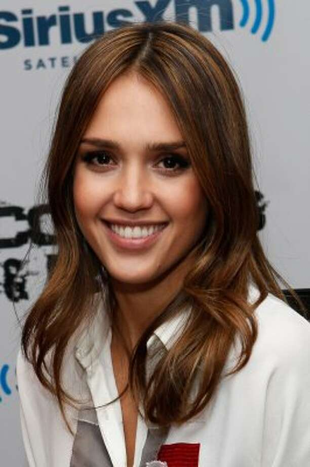 Jessica Alba also supports the Democrats. (Cindy Ord / Getty Images)