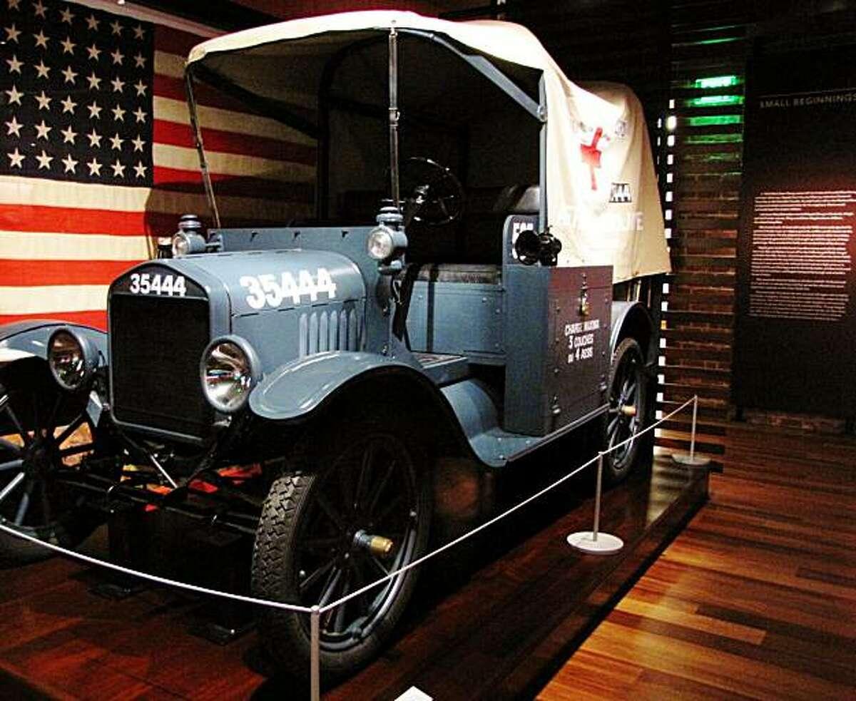 Location: Walt Disney Family Museum Site: Beginnings gallery