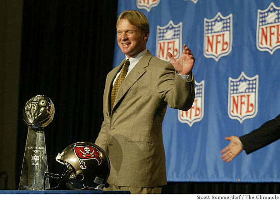 gruden Photo: Scott Sommerdorf, The Chronicle