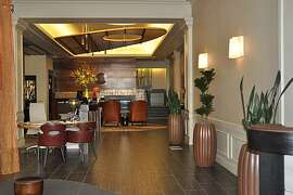 Lobby at Hotel Abri