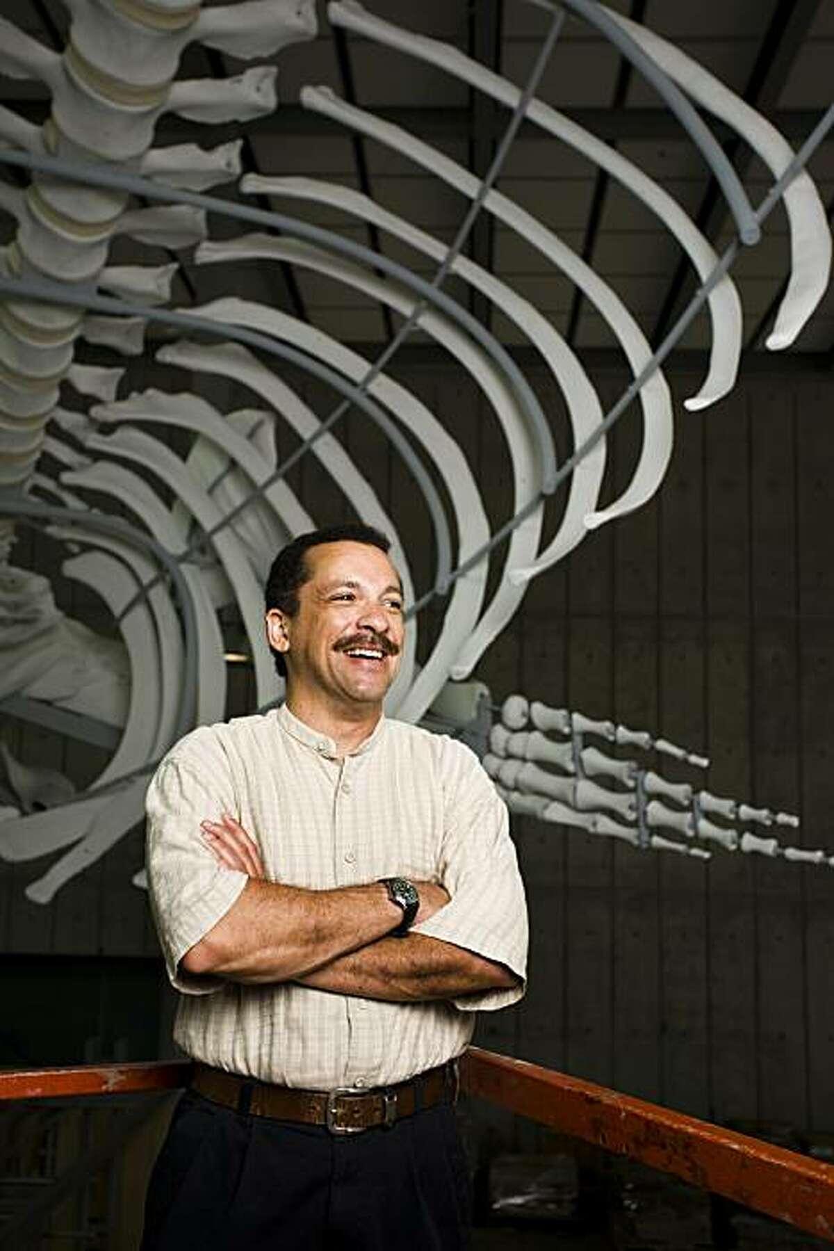 Peter Roopnarine, scientist at California Academy of Sciences