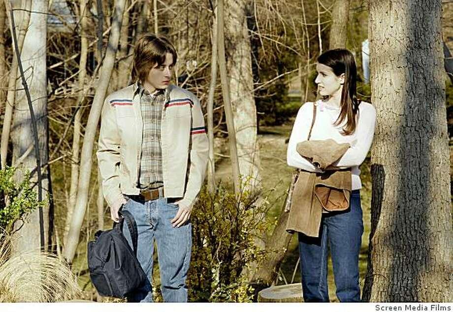 "Emma Roberts and Kieran Culkin in ""Lymelife."" Photo: Screen Media Films"