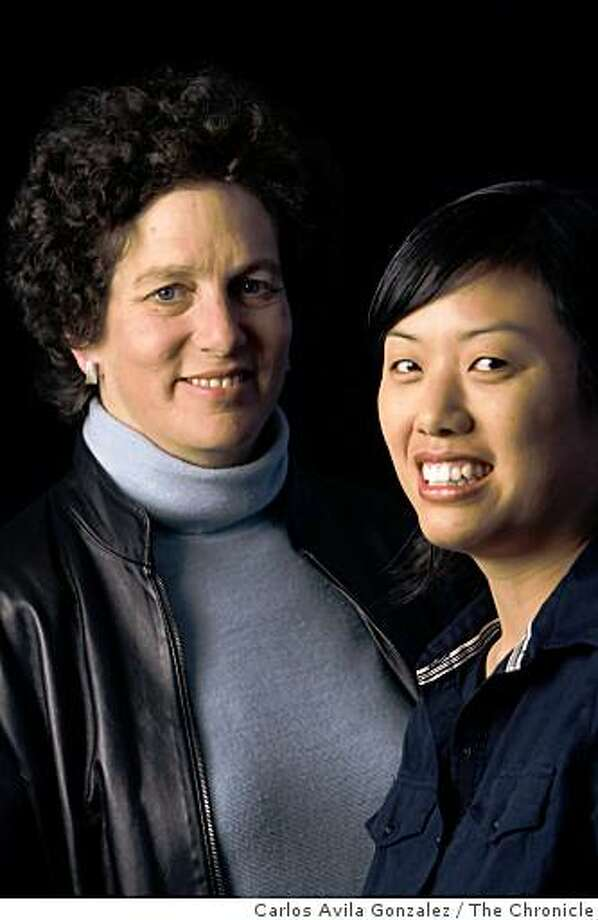 "San Francisco filmmaker (and Academy Award winnter) Debra Chasnoff and producer, Sue Chen have premiered a new documentary about gender issues in high schools. The title of the film is, ""Straightlaced: How Gender's Got Us All Tied Up."" Photo: Carlos Avila Gonzalez, The Chronicle"