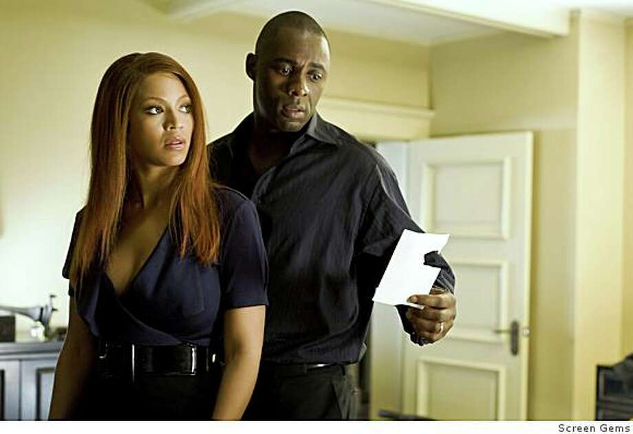 """Idris Elba and Beyonce Knowles in """"Obsessed."""" Photo: Screen Gems"""