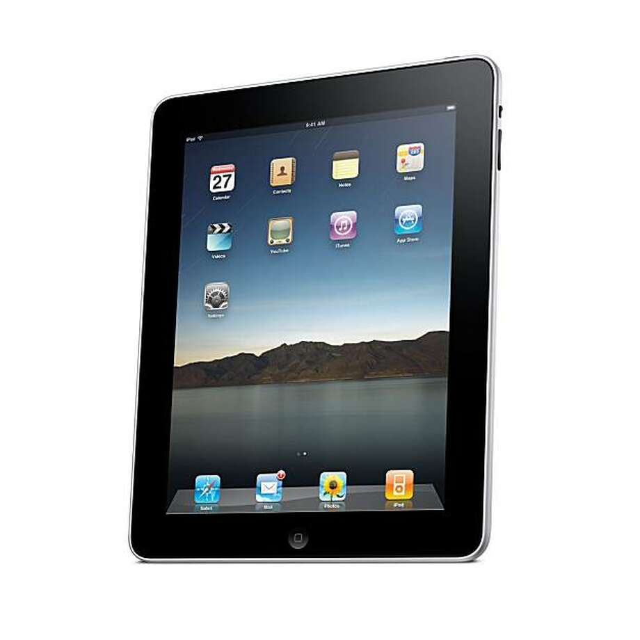 This product image provided by Apple Inc., shows the Apple iPad. (AP Photo/Apple Inc.) NO SALES Photo: Apple Inc.
