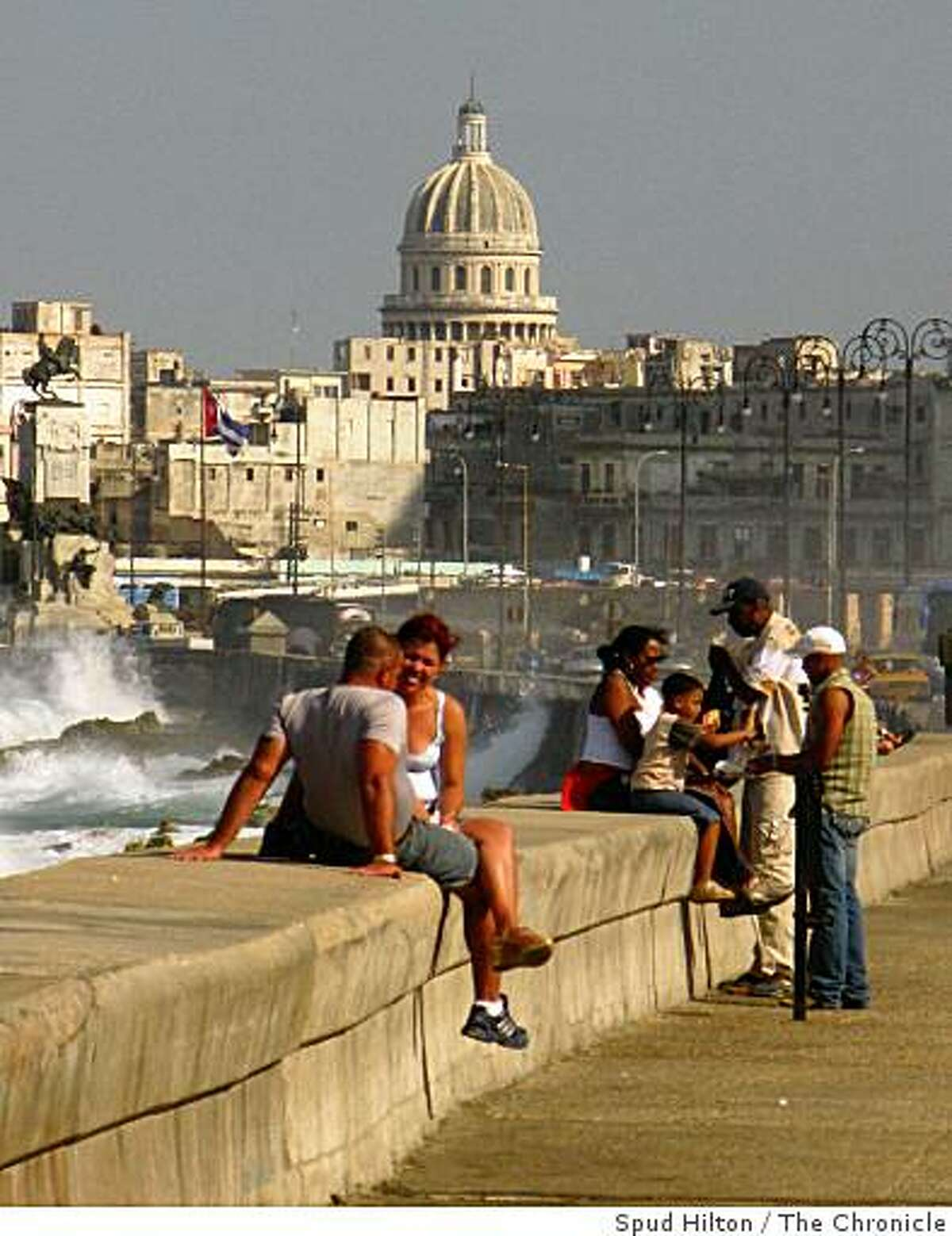 Images from Havana, Cuba. Specific caption TK.