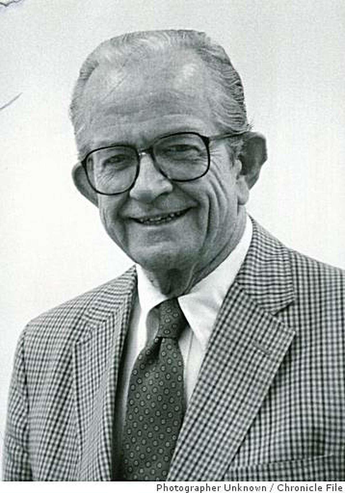 Osmundson.jpg Obit photo of landscape architect Ted Osmundson.Photographer Unknown Chronicle File