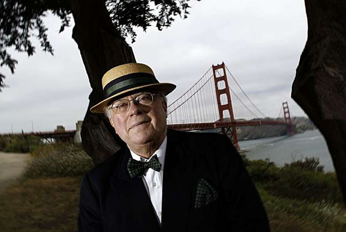 A Sunday profile of California historian and author, Kevin Starr, on Tuesday July 13, 2010, whose newest book is on the Golden Gate Bridge, in San Francisco, Ca.