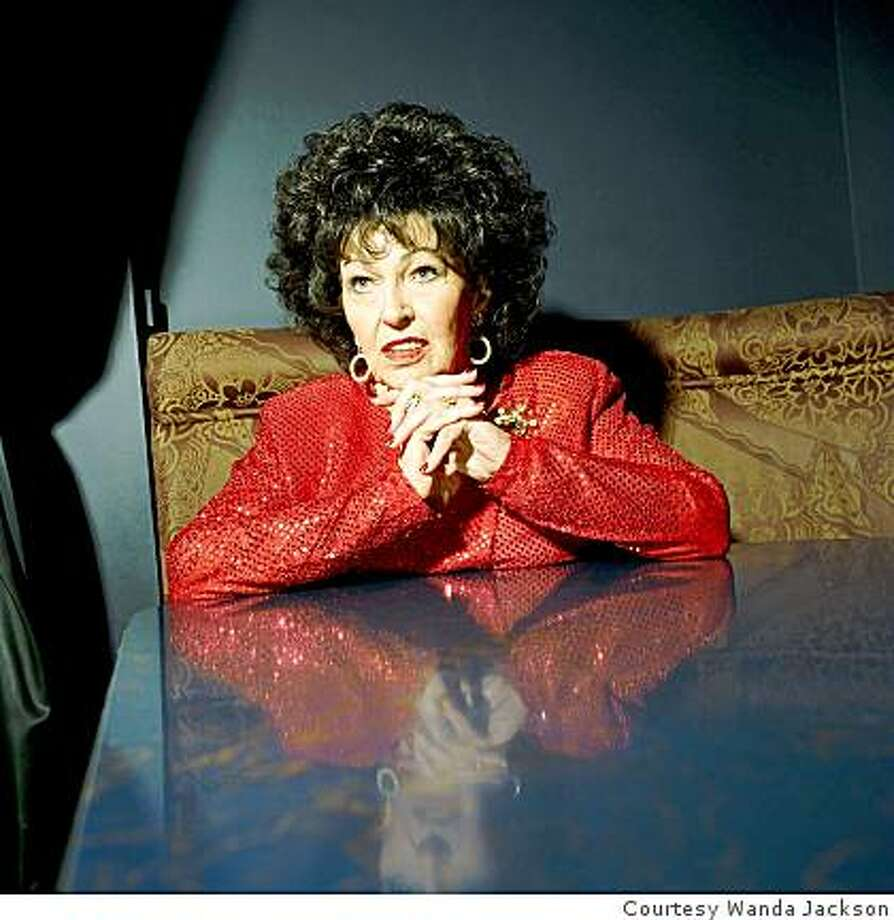 Wanda Jackson, inducted into the Rock and Roll Hall of Fame and due in the Bay Area April 17 and 18 Photo: Courtesy Wanda Jackson