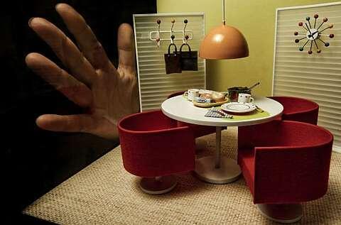 Bauhaus meets dollhouse: miniatures go midcentury - SFGate