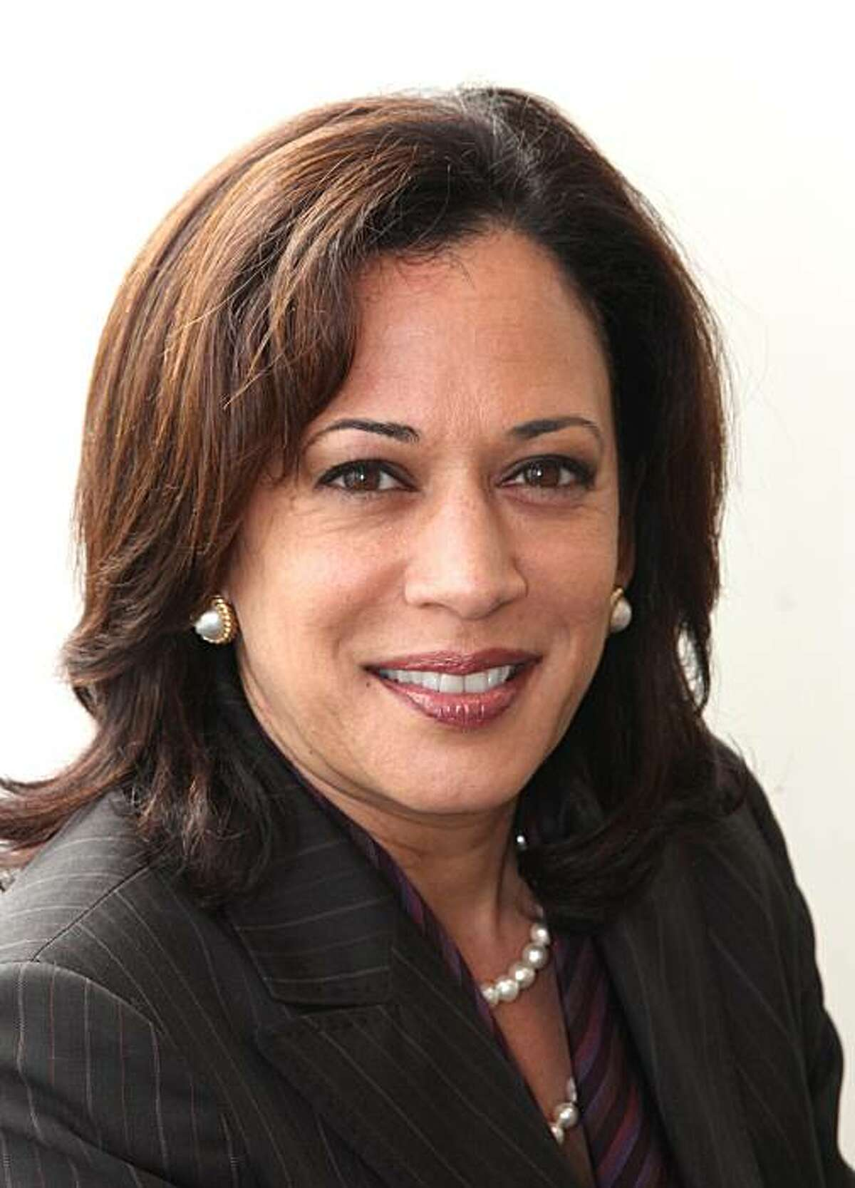 This Tuesday, April 20, 2010 photo shows San Francisco District Attorney Kamala Harris who is running for the Democratic nomination for Attorney General in the June 2010 primary, in Sacramento, Calif. (AP Photo/Rich Pedroncelli)