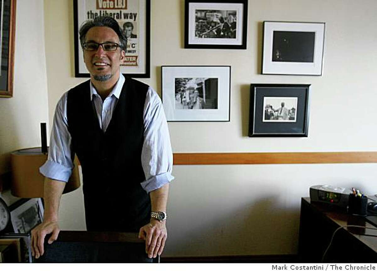 San Francisco Supervisor Ross Mirkarimi stands in his office in San Francisco.