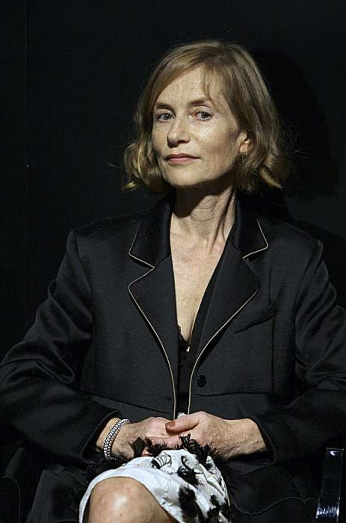 ** File ** In this Monday, Sept. 1, 2008 file photo, French actress Isabelle Huppert arrives for the Gucci Group Award during the 65th edition of the Venice Film Festival in Venice, Italy. French actress Isabelle Huppert will head the jury of the 62nd edition of the Cannes film festival in May, organizers announced Friday, Jan. 2, 2009. Huppert, 55, who has starred in more than 90 films, has twice won the best actress award at the prestigious film festival on the French Riviera. (AP Photo/Joel Ryan, File)