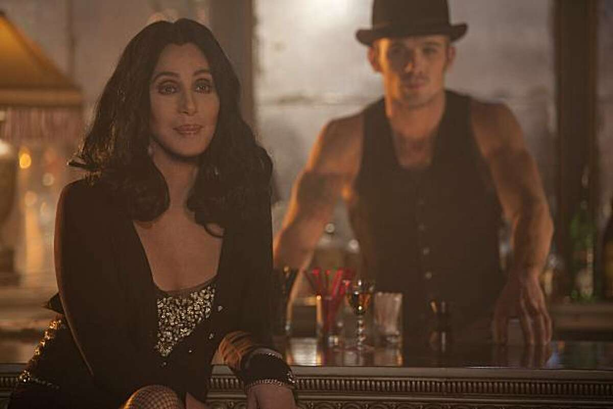 Cher and Cam Gigandet in Screen Gems' BURLESQUE.