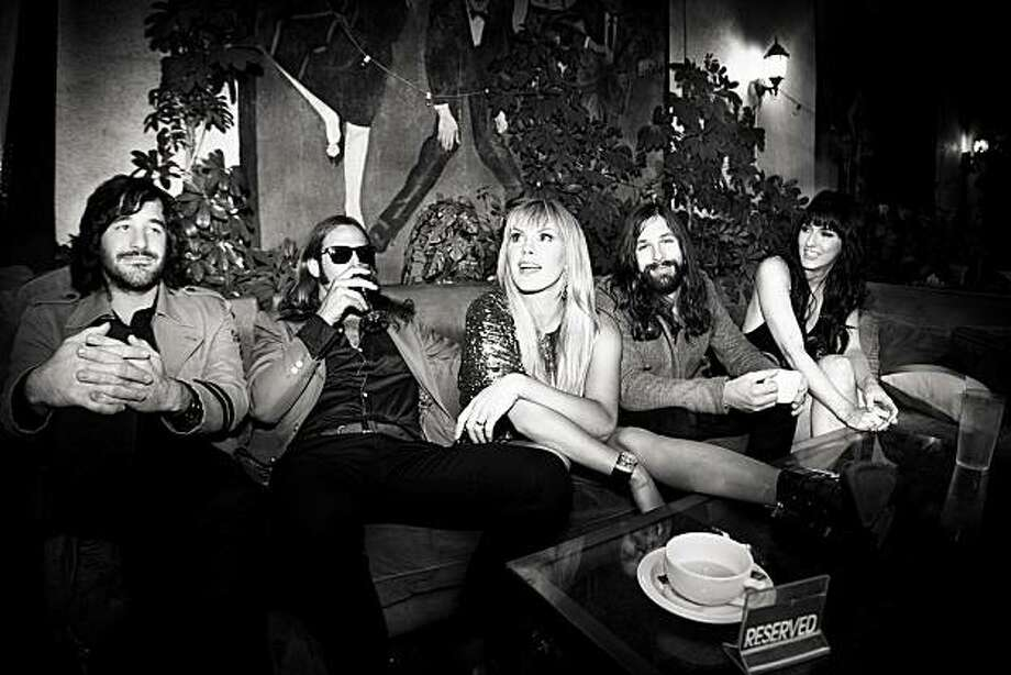 Photo of Grace Potter and the Nocturnals by Adrien Broom. Photo: Adrien Broom
