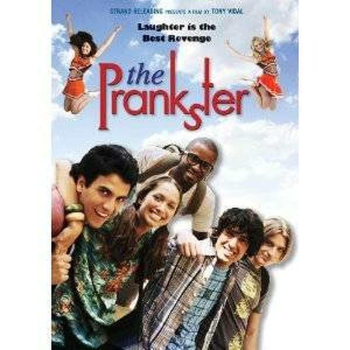 dvd cover THE PRANKSTER