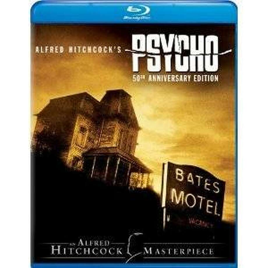 blu-ray dvd cover PSYCHO Photo: Amazon.com