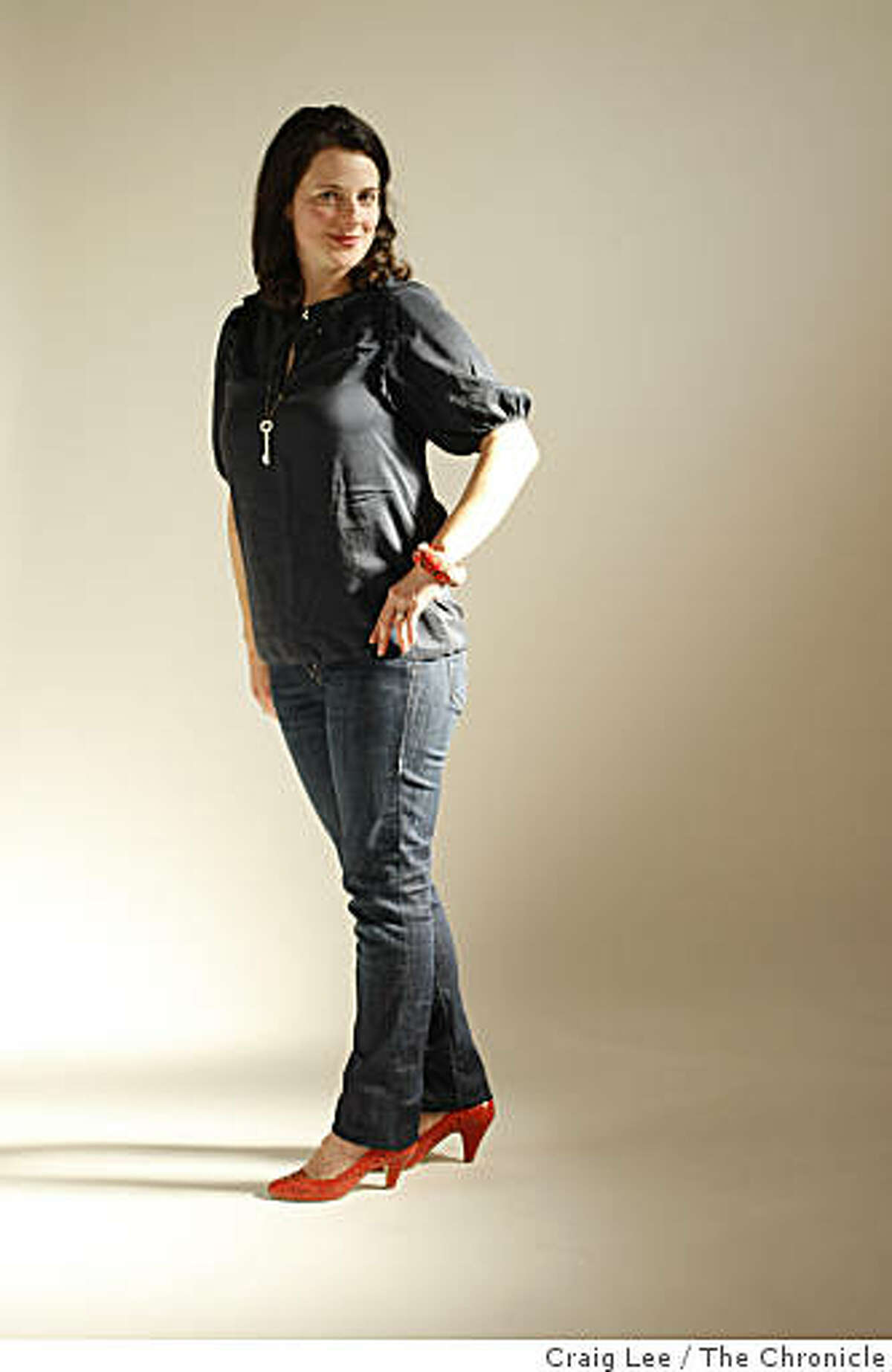 Suzanne Shade, a designer in San Francisco, Calif., on March 26, 2009.