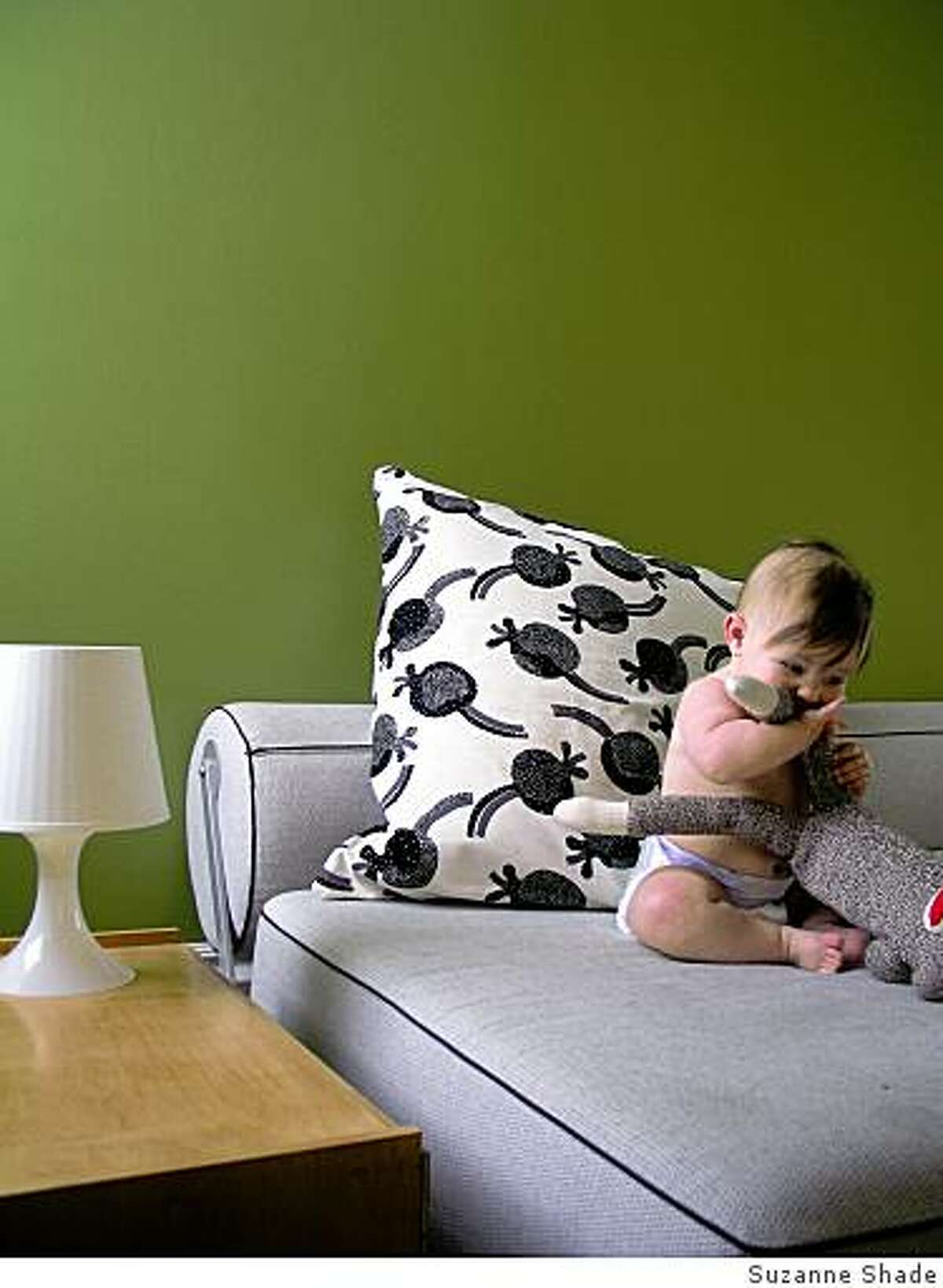 One of stylemaker Suzanne Shade's favorites things:Twilight sleeper sofa: This is obviously great for guests, but we just recently had a baby and it?s been an indispensable piece. We use it as a family bed in the nursery, and the central spot to read stories and play. It will also grow to be her bed when the time comes. Hooray for multi uses! (dwr.com)OLYMPUS DIGITAL CAMERA