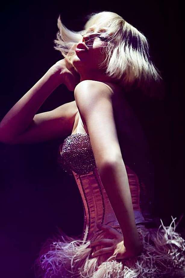 """Burlesque"":  Christina Aguilera Photo: Stephen Vaughan, Screen Gems"
