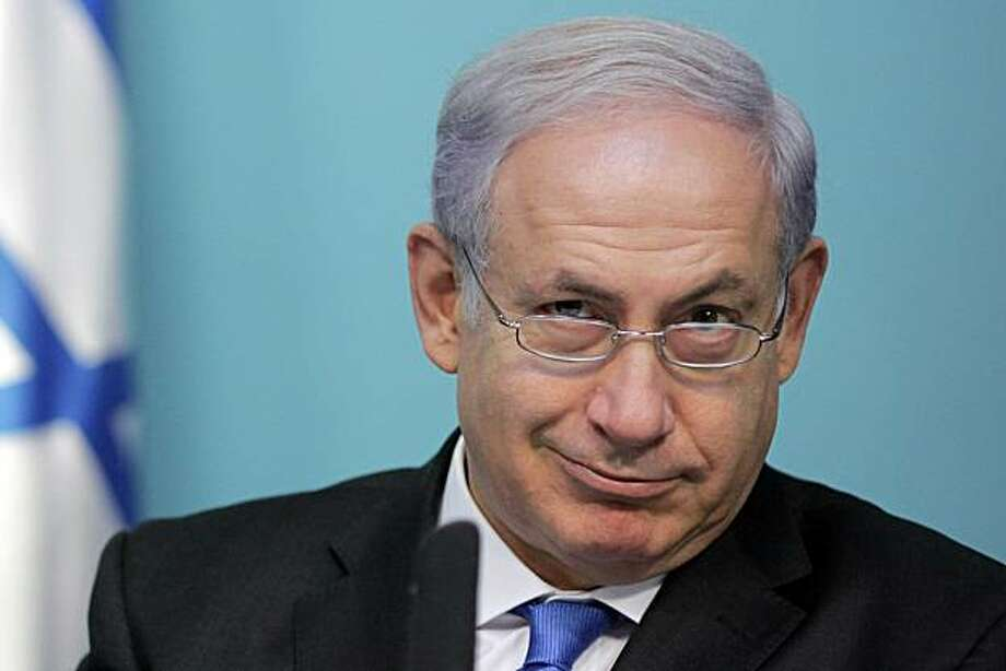 ISRAEL OUT Israeli Prime Minister Benjamin Netanyahu holds a press conference at his offices in Jerusalem on November 15, 2010. Photo: Daniel Bar-on, AFP/Getty Images