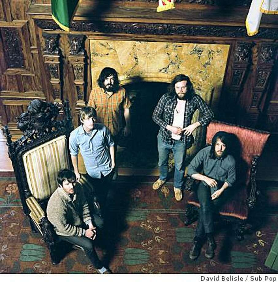 Fleet Foxes play two sold-out concerts in San Francisco this week. Photo: David Belisle, Sub Pop